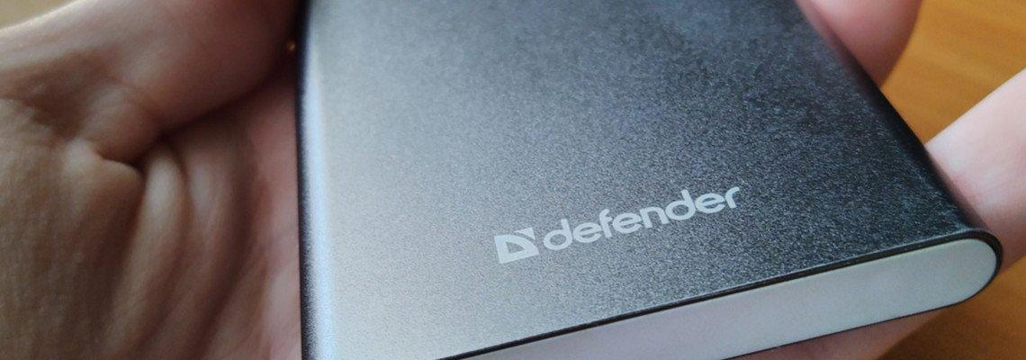 Обзор на Power Bank Defender ExtraLife